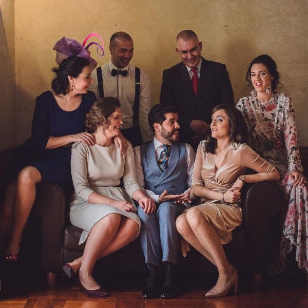 Amigos de boda